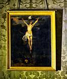 Anton van Dyck, Crucifixion of Christ, oil on canvas, early 17th century, Palazzo Alliata di Villafranca, Piazza Bologni historic part of Palermo, Sic...