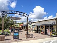 Journal Plaza in Lake Placid in Florida in the United States.