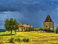 abandoned house near Montastruc, Lot-et-Garonne Department, Nouvelle-Aquitaine, France.