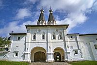 Holy Gates of the Ferapontov monastery, Russia.