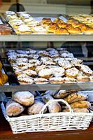 bakers window Lisbon portugal.
