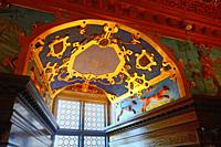 Interior view in Kalmar castle, Kalmar, Småland county, Sweden, Scandinavia.