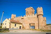 Medieval castle. Guijosa, Guadalajara province, Castilla La Mancha, Spain.