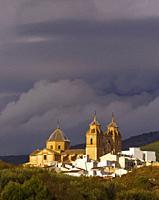 Velez-Rubio, Almeria Province, Andalusia, southern Spain. Church of Nuestra Señora de la Encarnación.