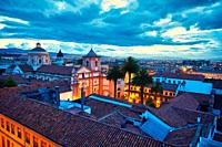 San Ignacio Church,La Candelaria, Bogota, Cundinamarca, Colombia, South America