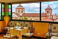 San Ignacio Church, Hotel de la Opera, La Candelaria, Bogota, Cundinamarca, Colombia, South America