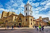 San Francisco Church, Bogota, Cundinamarca, Colombia, South America