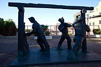Monument to the Miners in Puertollano, Ciudad Real, Spain