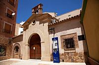 Church of Our Lady of Solitude, Puertollano, Spain. It is the oldest religious building in Puertollano (it may date from the 14th or 15th century) and...