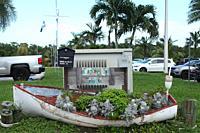 Marina Black Point in Miami, Florida, USA