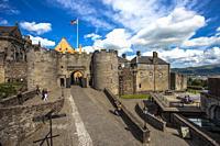Stirling Castle, Stirling city, Scotland, United Kingdom, Europe.