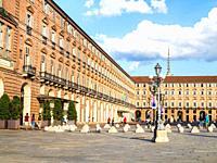 Piazza Castello - Turin, Italy.