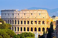 Colosseum (Flavian Amphitheatre) - Rome, Italy.