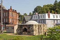 Dunbar, Pennsylvania - A beehive coke oven, reconstructed by the Dunbar Historical Society to commemorate the region's coal, coke, and steelmaking his...
