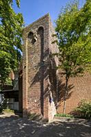 Borken, D-Borken, Hohe Mark Westmuensterland Nature Park, Muensterland, Westphalia, North Rhine-Westphalia, NRW, Baer Tower, defence tower, brick buil...