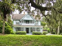 Guptill House at Historic Spanish Point in Osprey Florida in the United sTates.