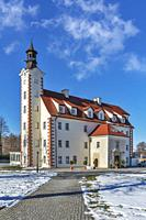 Lagow Palace (Palac w Lagowie) was built in 1581 and rebuilt in 1782. The renaissance-style building now houses a Hotel, Lagow, Zgorzelec, Lower Siles...