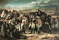 The Surrender of Bailen. Painted by Jose Casado Alisal in 1864. Museo del Prado, Spain. The Battle of Bailen was fought in 1808 between the Spanish Ar...