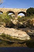 Pont Vell. Rio de Santa Eulària. Santa Eulària des Riu. Ibiza. Balearic islands. Spain.