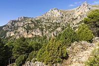 Loma del Calar de Cobo y Puntal de Misa, 1796 metros, Parque Natural de las Sierras de Cazorla, Segura y Las Villas , provincia de Jaén, Spain.