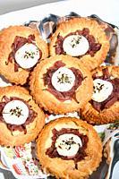 fine pastry original sweet Italian gourmands.