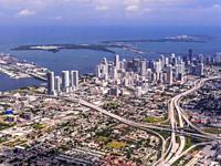 Downtown Miami. Florida. USA.