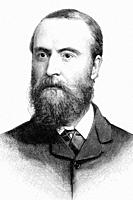 Charles Stewart Parnell. Leader of the Irish Parliamentary Party. 1846-1891. Antique illustration. 1891.