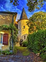 old pigeonier, Cahuzac, Lot-et-Garonne Department, Nouvelle-Aquitaine, France.
