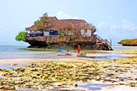The Rock restaurant, Zanzibar, Unguja island, Zanzibar