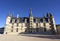 Ducal palace in Nevers, Nievre, Bourgogne-Franche-Comte, France.