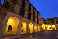 Conquest palace, Trujillo, Caceres, Extremadura, Spain.