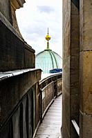 Berlin, Germany. View from the Berliner Dom at Museuminsel.