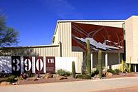 The 390th Memorial Museum building inside the Pima Air and Space museum, Tucson AZ.