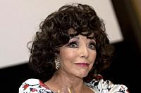 Joan Collins attends to Glow & Darkness photocall at in Madrid, Spain. 26/10/2020