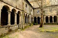 Parada de Sil, Santa Cristina de Ribas de Sil Monastery (romanesque 12-13th centuries). Ourense province, Galicia, Spain.