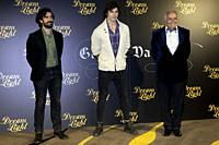 Dominic Andersen and Jose Luis Moreno attends to Glow & Darkness photocall at in Madrid, Spain. 26/10/2020