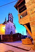 Church of San Miguel in Vilardevos, Orense, Spain.