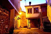 Small alley of Vilardevos, Orense, Spain