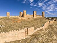 fortress of Molina de los Caballeros, Molina de Aragón, province of Guadalajara, Spain,.