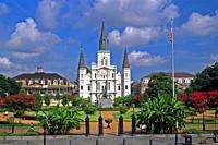 Jackson Square - New Orleans, Louisiana.