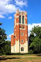 Beaumount Tower Michigan State University campus at East Lansing Michigan.