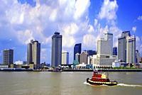 New Orleans, Louisana skyline.