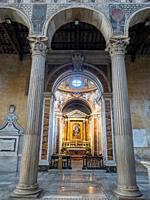 Cappella d'Elci o di Santa Caterina in the Basilica of Santa Sabina on the Aventine Hill - Rome, Italy.