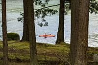 Narvaez Bay, Saturna Island, BC, Canada.