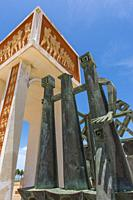 The Door of No Return monument in Ouidah, Benin.