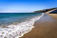 Water Canyon Beach, Santa Rosa Island, Channel Islands National Park, California USA.