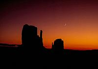 """Monument Valley is a region of the Colorado Plateau characterized by a cluster of vast sandstone buttes. It is located on the Arizonaâ. """"Utah border."""