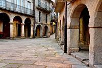 Old Town. Jewish Quarter of Ribadavia, Orense, Spain
