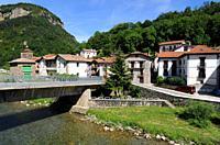 Urzainqui or Urzainki. Roncal valley, Navarra, Spain.
