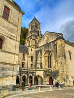 Brantome Abbey, Brantome, Dordogne Department, Nouvelle-Aquitaine, FranceFrance.